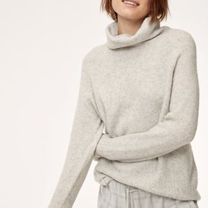 The Group by Babaton Plutarch Turtleneck Alpaca Blend Sweater Medium